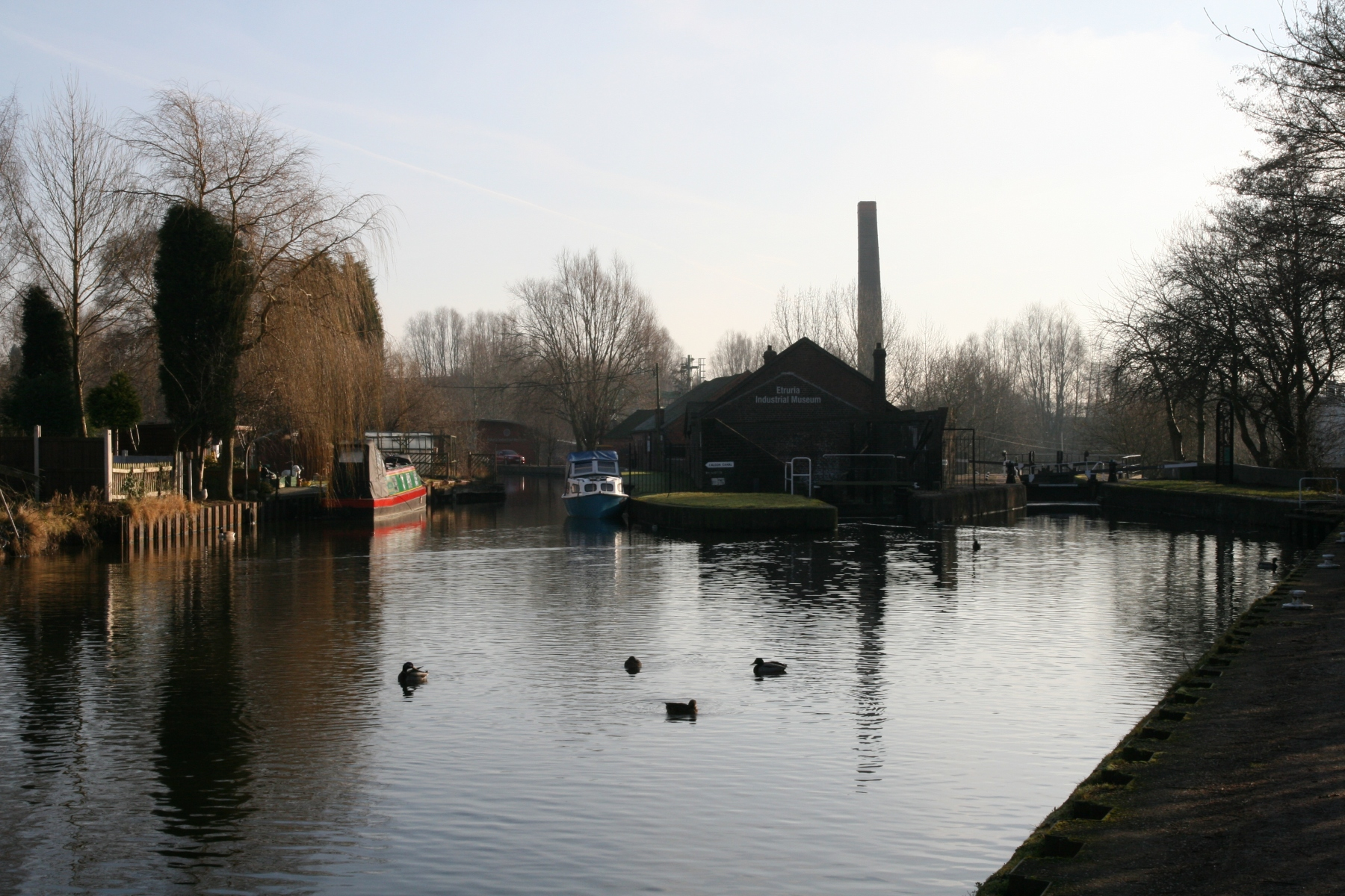 JUNCTION OF THE CALDON AND TRENT AND MERSEY CANALS