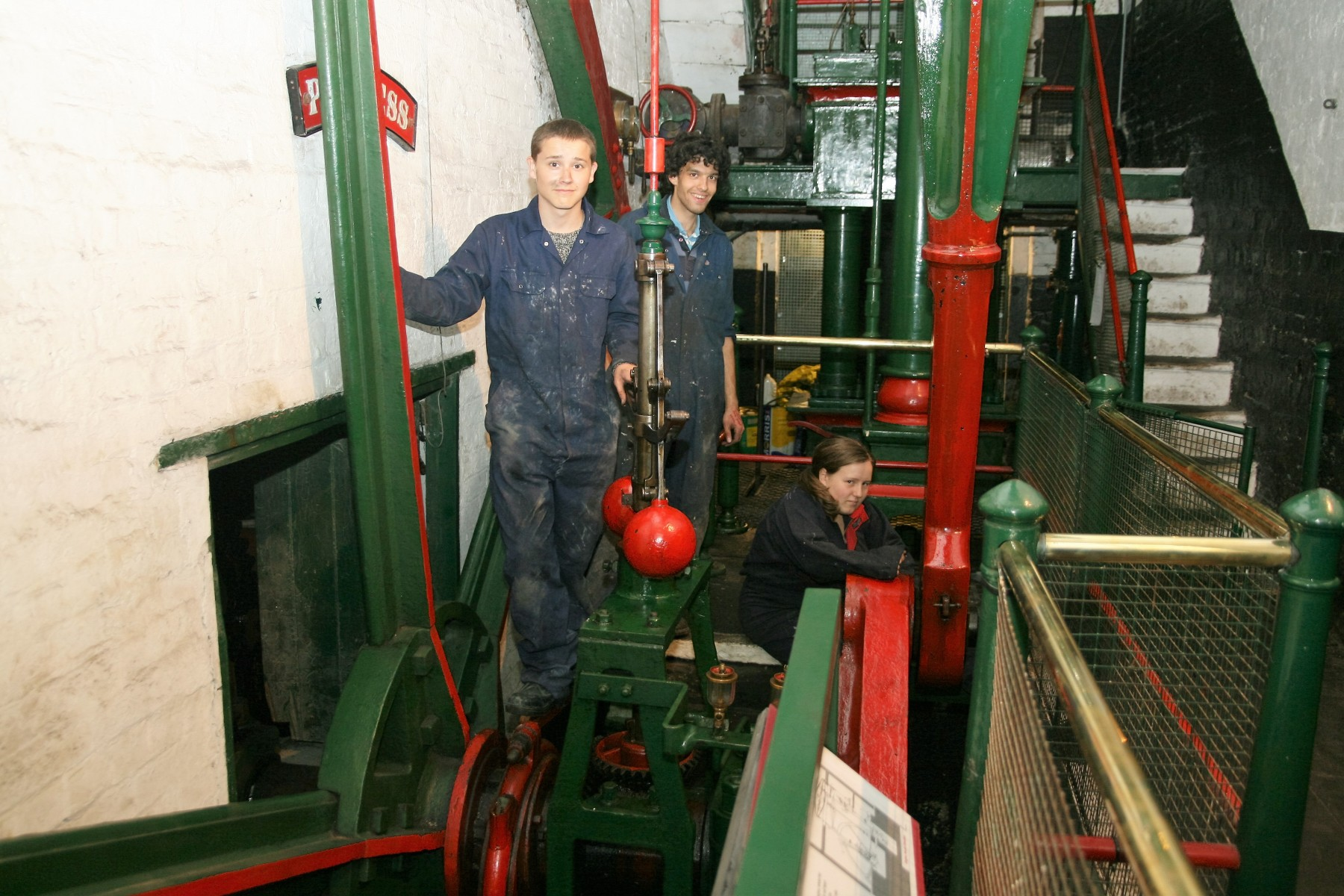 YOUNG ENGINE VOLUNTEERS