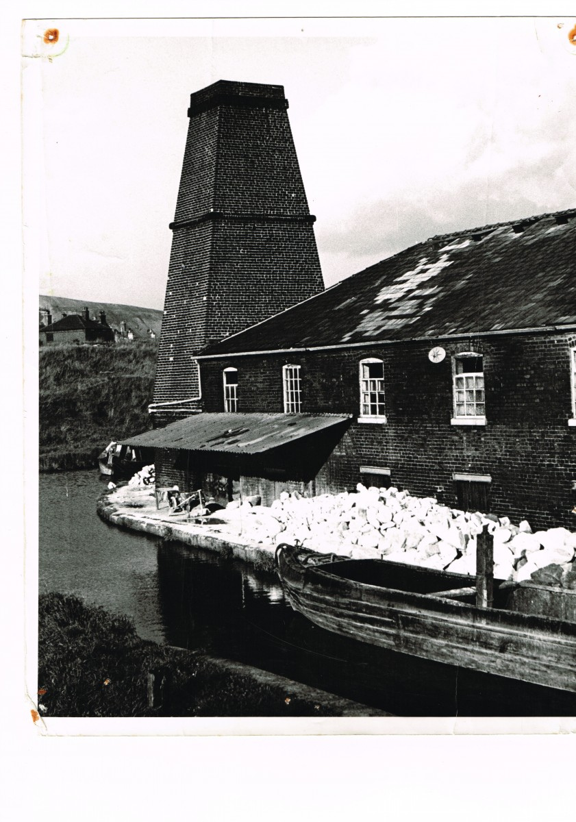 FLINT MILL IN 1950