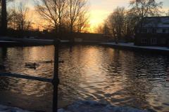 CALDON CANAL AT SUNSETt- ReaderArt