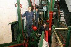 YOUNG ENGINE VOLUNTEERS